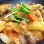 キッチンキム宅 - タクトリタン。ちょっとピリ辛の鳥・ジャガイモ・野菜のスープ。