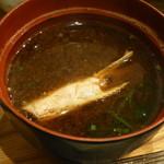 あつむら - 海老入り味噌汁