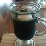 ヒルトコ カフェ - ヨモギのゼリー、優しい甘さでGOOD♪