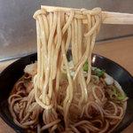 六文そば - かき揚げ天そば(350円)