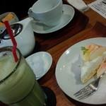 アルク カフェ - 友達とお茶をしに・・・