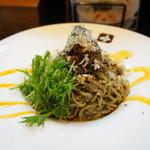 """吟 - """"冷製""""黒胡麻担々麺"""