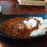 cafe de flots - あま辛ひき肉カレー1000円
