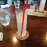 cafe de flots - セット+150円のはちみつレモン