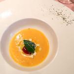 カバルッチョベルデ - 無農薬人参の冷製スープ