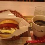 39011556 - H26/10モスバーガー、ホットコーヒー