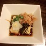 四季彩ダイニング茶茶 - 揚げ出し豆腐