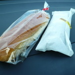 コッペdeサンド - おみづけパンとあげぱんシュガー
