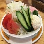 コメダ珈琲店 - サラダ(ハムサラダ)
