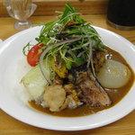 カレー屋 小松 - 豚角煮カレー