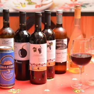 ロシアンビール&クリミアワイン…♪お酒で楽しむロシアの魅力*