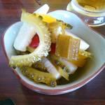 蔵元豊祝 - 料理写真:夏野菜のネバネバピクルス♪