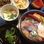 大巳鮨 - ランチセット ¥800