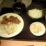 39025671 - 豚生姜焼き定食