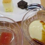 河京ラーメン館 - デザートです。                          27.6.13