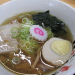 河京ラーメン館 - えび塩。                                 27.6.13