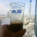 3903075 - 黒生ビールでスカイツリーに乾杯