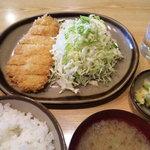 3903234 - ロースかつ定食(¥750-)
