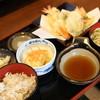 精寿庵 - 料理写真:天ぷら定食(うどん)