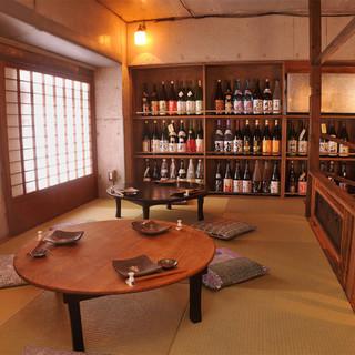 こだわりの古家具や調度の趣ある空間で日本のおもてなしを