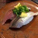 廻鮮寿司 かねき  - 旬いわし(本日のおススメ)