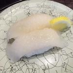 廻鮮寿司 かねき  - 料理写真:スルメイカ(本日のおススメ)