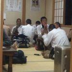 七福食堂 - 座敷は食べ盛りの臭う男子でムンムンでしたぁ~ ワラ