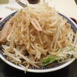 大勝軒 麺屋こうじ - 黒ふじ麺中盛+野菜増し