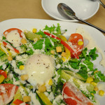 グリエ タニグチ - 夏野菜のシーザーサラダ