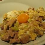 39039490 - シャモ玉子とモモ肉の親子丼