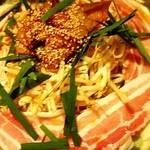 ソップ亭 - 料理写真:ちりとりホルモン焼き鍋 (シメのソバ付)2,000円-