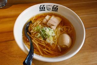 とと ホンテン - とと ホンテン(中華そば・醤油690円+味玉150円)