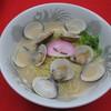大山田パーキングエリア(下り線)スナックコーナー - 料理写真:桑名名物「はまぐりラ-メン」