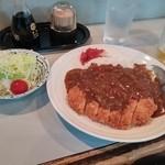 ごん太 - ランチでカツカレー(500円)