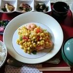サニーサイド - 本日の中華定食ランチ