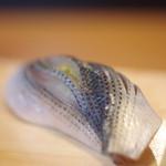 鮨 芝大門水野 - 小鰭(こはだ)