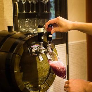いつでもフレッシュなイタリア産樽生スパークリングワイン☆