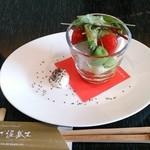 レストラン ぎんざ 泥武士 - 前菜 豆乳マヨネーズ