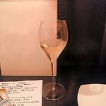 gennaio - グラスワインの白