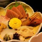 にごり沢 - 和定食のお刺身