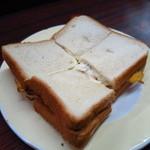 まこと - 名物のハムトースト