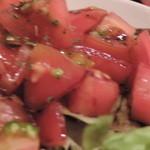 イワクラ - トマトサラダ アップ