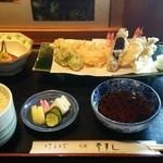 39052977 - 天ぷら定食をいただきました。