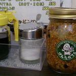 けんたカフェ - シロップや木の実のジャムは無料ですが取る為のスプーンも付いてない…^^;