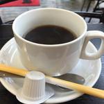 九州ラーメン 桜島 - 201506 サービスのコーヒー