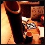 39055345 - 竹酒 竹の香りとギンギンに冷たい 700円