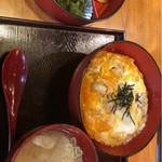 梨果園 - 西京味噌焼と親子丼セット