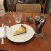 カフェ アントニオ - 料理写真:チーズケーキとアイスコーヒーのセット