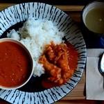 コレリ - 週末限定アフリカ料理ランチ☆予約要(セネガルのマフェ)