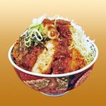 坂井精肉店 - 肉厚醤油ダレかつ丼